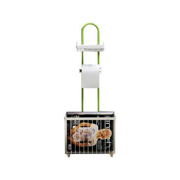 トイレットペーパー 収納 スタンド ホルダー 棚付き スマホ置き マガジンラック ◇ALWF-CT-ZWJ-2020
