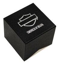 【当店1年保証】ブローバHarley-DavidsonMen'sBulovaBlackWillieGSkullWristWatch78A114
