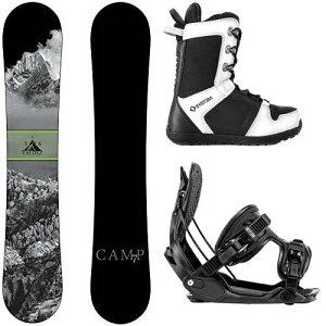 スノーボード ウィンタースポーツ キャンプセブン 2017年モデル2018年モデル多数 Camp Seven Package Valdez CRC Snowboard-159 cm-Flow Alpha MTN Large-System APX Snowboard Boots 9スノーボード ウィンタースポーツ キ