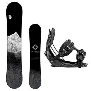 スノーボード ウィンタースポーツ システム 2017年モデル2018年モデル多数 Package-System MTN CRCX Snowboard-159 cm-Flow Alpha MTN Snowboard Bindings-Largeスノーボード ウィンタースポーツ システム 2017年モデル2