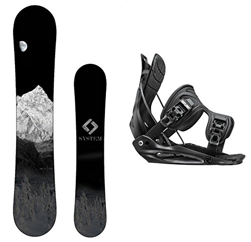 スノーボード ウィンタースポーツ システム 2017年モデル2018年モデル多数 Camp Seven Package-System MTN CRCX Snowboard-163 cm Wide-Flow Alpha MTN Snowboard Bindings-Mediumスノーボード ウィンタースポーツ システム 2017年モデル2018年モデル多数
