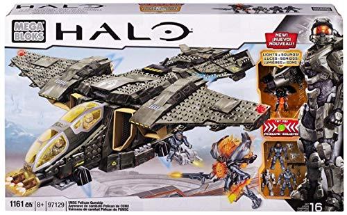 メガブロック メガコンストラックス ヘイロー 組み立て 知育玩具 CXL15 Mega Bloks Halo UNSC Pelican Gunshipメガブロック メガコンストラックス ヘイロー 組み立て 知育玩具 CXL15
