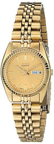 セイコー 腕時計 レディース SWZ058 Seiko Women's SWZ058 Dress Gold-Tone Watchセイコー 腕時計 レディース SWZ058