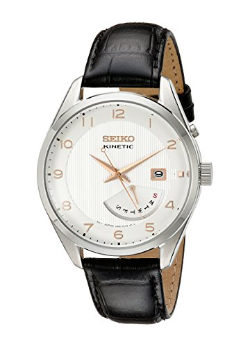 腕時計, メンズ腕時計  SRN049 Seiko Men SRN049 Kinetic Stainless Steel Watch SRN049