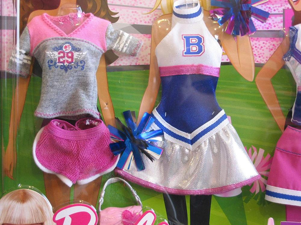 バービー バービー人形 着せ替え 衣装 ドレス R6814 Barbie Fashions CHEERLEADER Exercise Outfits (2009)バービー バービー人形 着せ替え 衣装 ドレス R6814