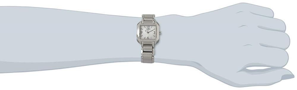 ティソ 腕時計 レディース T02128582 Tissot Women's T02128582 T-Wave Stainless Steel Bracelet Watchティソ 腕時計 レディース T02128582