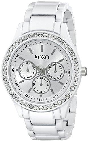 クスクス キスキス 腕時計 レディース XO5408 XOXO Women's XO5408 Rhinestone-Accented Watchクスクス キスキス 腕時計 レディース XO5408