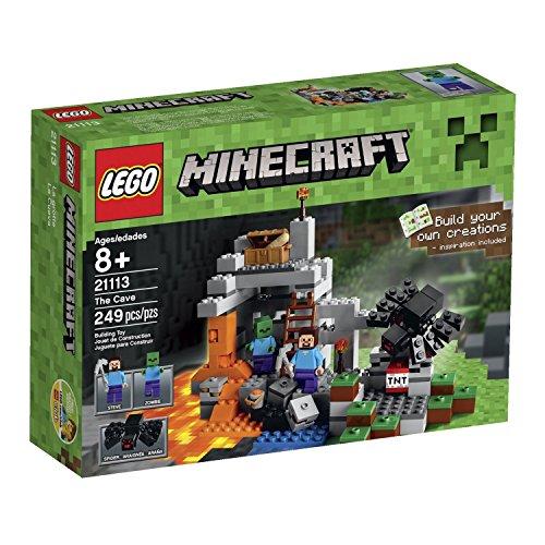 レゴ マインクラフト 2 Minifigures with Assorted Accessories, Steve & a Zombie, Plus a Spider Minecraftレゴ マインクラフト