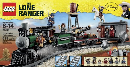 レゴ 79111 LEGO The Lone Ranger Constitution Train Chase (79111) (Discontinued by manufacturer)レゴ 79111