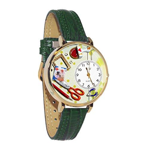 気まぐれな腕時計 かわいい プレゼント クリスマス ユニセックス Scrapbook Red Leather And Goldtone Watch #WG-G0410008気まぐれな腕時計 かわいい プレゼント クリスマス ユニセックス