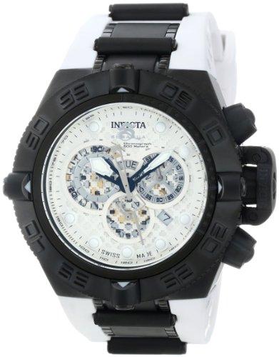 インヴィクタ インビクタ サブアクア 腕時計 メンズ 11813 Invicta Men's 11813 Subaqua Chronograph Silver Dial White Polyurethane Watchインヴィクタ インビクタ サブアクア 腕時計 メンズ 11813