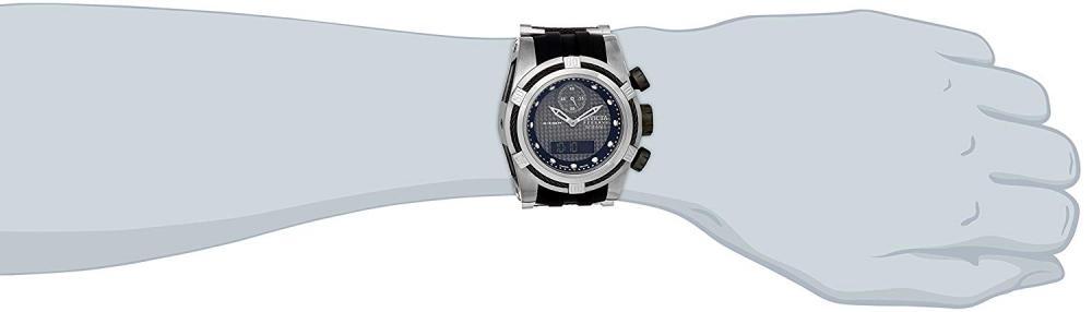 インヴィクタ インビクタ ボルト 腕時計 メンズ 12491 Invicta Men's 12491 Bolt Analog-Digital Display Swiss Quartz Black Watchインヴィクタ インビクタ ボルト 腕時計 メンズ 12491