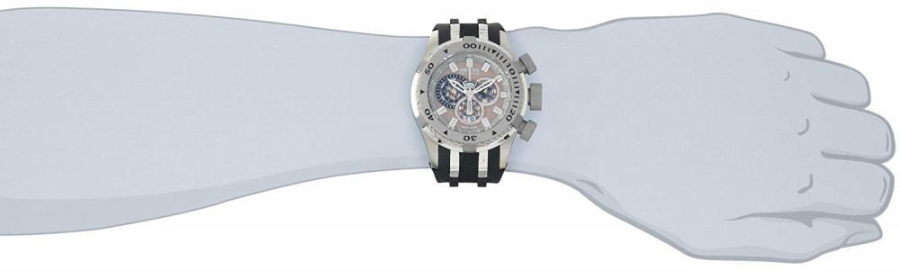 インヴィクタ インビクタ リザーブ 腕時計 メンズ 0981 Invicta Men's 0981 Reserve Chronograph Grey Dial Black Polyurethane Watchインヴィクタ インビクタ リザーブ 腕時計 メンズ 0981