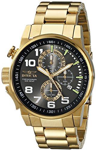 インヴィクタ インビクタ フォース 腕時計 メンズ 17416 Invicta Men's 17416 I-Force 18K Gold Ion-Plated Stainless Steel Watchインヴィクタ インビクタ フォース 腕時計 メンズ 17416
