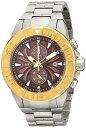 腕時計 インヴィクタ インビクタ プロダイバー メンズ 12308 【送料無料】Invicta Men's 12308 Pro Diver Chronograph Brown Textured Dial Stainless Steel Watch腕時計 インヴィクタ インビクタ プロダイバー メンズ 12308