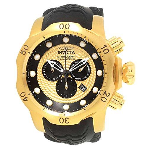 インヴィクタ インビクタ ベノム 腕時計 メンズ 20443 Invicta Men's Venom Stainless Steel Analog-Quartz Watch with Silicone Strap, Black, 26 (Model: 20443インヴィクタ インビクタ ベノム 腕時計 メンズ 20443