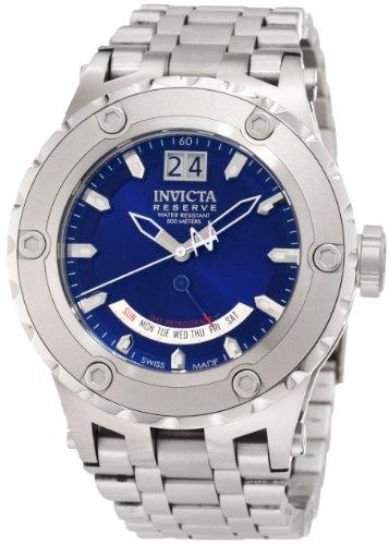 インヴィクタ インビクタ リザーブ 腕時計 メンズ 1583 Invicta Men's 1583 Reserve Retrograde Blue Dial Stainless Steel Watchインヴィクタ インビクタ リザーブ 腕時計 メンズ 1583