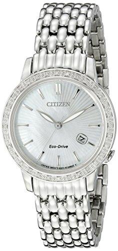 シチズン 逆輸入 海外モデル 海外限定 アメリカ直輸入 EW2280-58D Citizen Eco-Drive Women's EW2280-58D Diamond Watchシチズン 逆輸入 海外モデル 海外限定 アメリカ直輸入 EW2280-58D