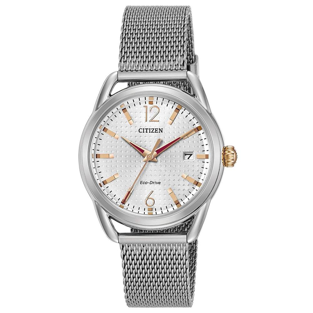 シチズン 逆輸入 海外モデル 海外限定 アメリカ直輸入 4331795944 Citizen Women's Drive Japanese-Quartz Watch with Stainless-Steel Strap, Silver (Model: FE6081-51Aシチズン 逆輸入 海外モデル 海外限定 アメリカ直輸入 4331795944