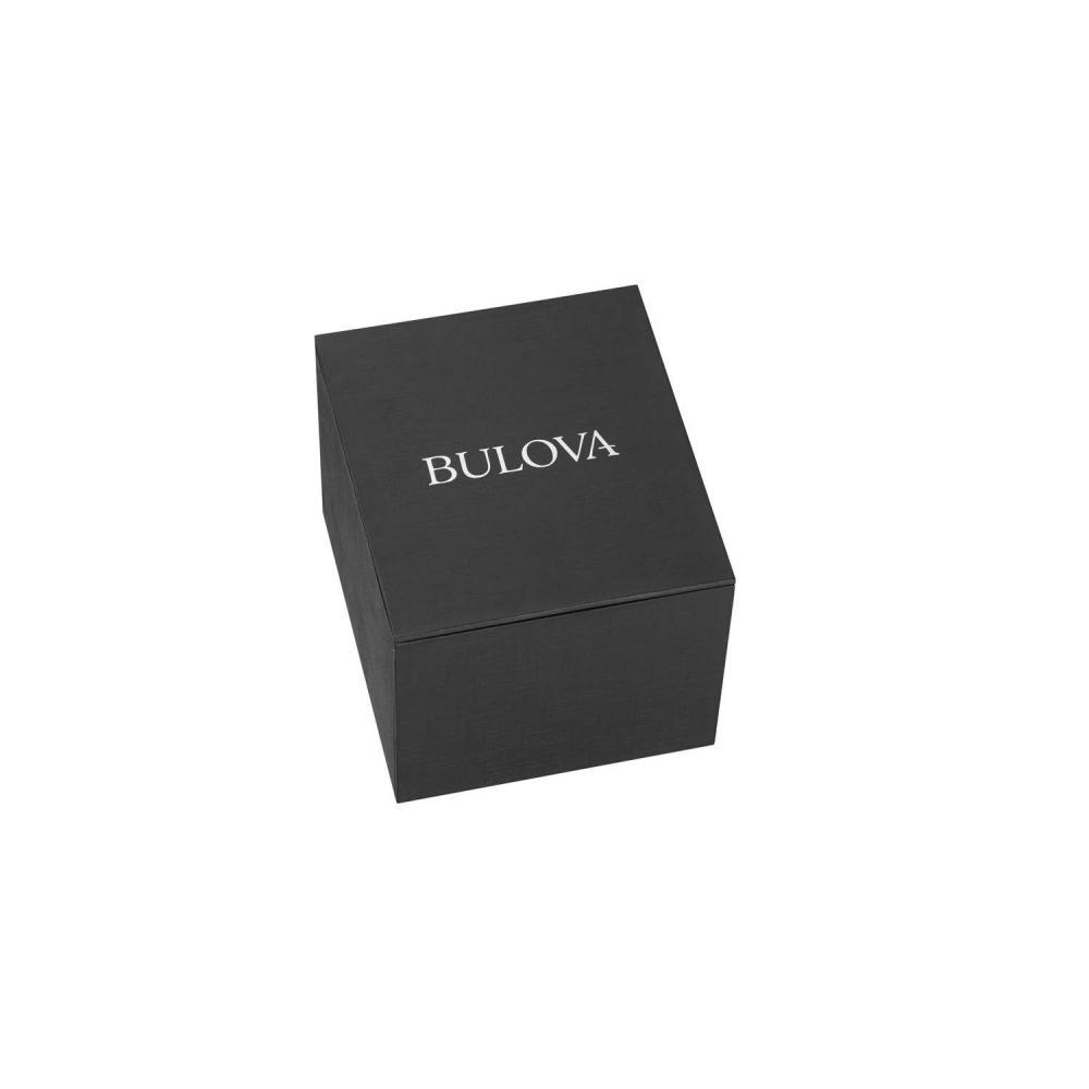 ブローバ 腕時計 メンズ 96B242 Bulova Men's 96B242 20mm Leather Calfskin Brown Watch Braceletブローバ 腕時計 メンズ 96B242