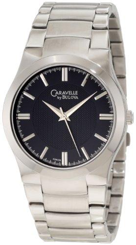 ブローバ 腕時計 メンズ 43A106 Caravelle by Bulova Men's 43A106 Silvertone Watchブローバ 腕時計 メンズ 43A106