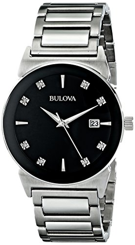 ブローバ 腕時計 メンズ 96D121 Bulova Men's 96D121 Analog Display Japanese Quartz Silver Watchブローバ 腕時計 メンズ 96D121