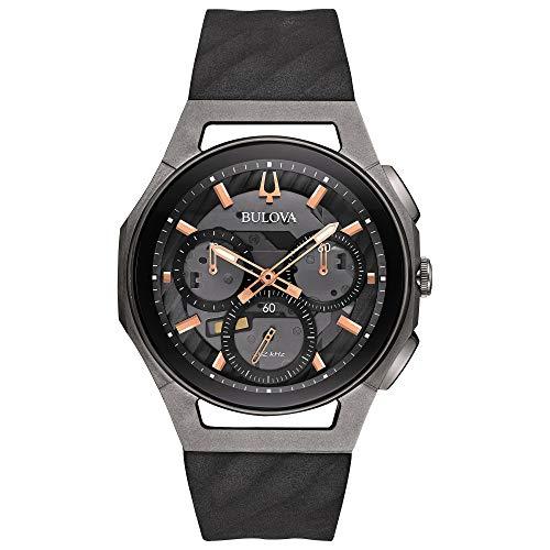 ブローバ 腕時計 メンズ 98A162 Bulova Men's 44mm CURV Collection Dark Gray Chronograph Watchブローバ 腕時計 メンズ 98A162