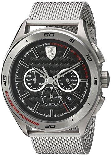 フェラーリ 腕時計 メンズ 830347 Ferrari Men's 830347 Analog Quartz Chonograph Silver Stainless Steel Watchフェラーリ 腕時計 メンズ 830347