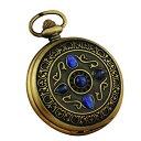 スチームパンク steampunk メンズ 腕時計 懐中時計 WA219.L 【送料無料】VIGOROSO Men's Vintage Noble Bronze Blue Stone Gold Skeleton Steampunk Mechanical Pocket Watch in Boxスチームパンク steampunk メンズ 腕時計 懐中時計 WA219.L