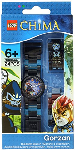 レゴ LEGO 腕時計 キッズ 子供 8020202 LEGO Kids' 9000447 Legends of Chima Gorzan Plastic Watch with Link Bracelet and Figurineレゴ LEGO 腕時計 キッズ 子供 8020202