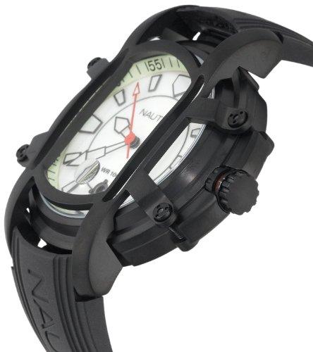 ノーティカ 腕時計 メンズ N27507X Nautica Men's N27507X NMX300 Black Resin Watchノーティカ 腕時計 メンズ N27507X