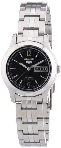 セイコー 腕時計 レディース SYMD99K1 Seiko Women's Automatic Stainless Steel Dress Watch, Color: Silver (Black dial)  (Model: SYMD99)セイコー 腕時計 レディース SYMD99K1