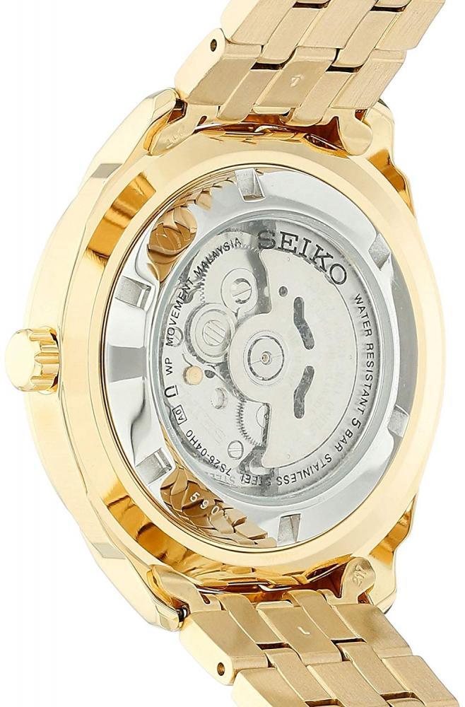 【当店1年保証】セイコーSeiko Men's SNKN48 RECRAFT Automatic Analog Display Japanese Automatic Gold Watch