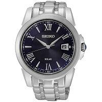 セイコー腕時計メンズSNE395SeikoSNE395Men'sLeGrandSportSilverBraceletBandBlackDialWatchセイコー腕時計メンズSNE395
