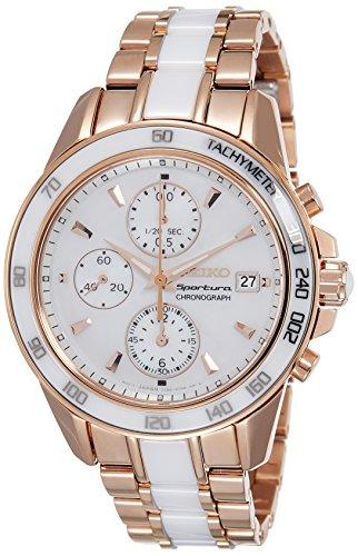 セイコー 腕時計 レディース SNDW98P1 Seiko Ladies SPORTURA Chrono Analog Dress Quartz Watch NWT SNDW98P1セイコー 腕時計 レディース SNDW98P1