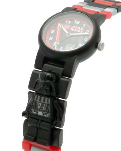 レゴ LEGO 腕時計 キッズ 子供 8020417 LEGO Watches and Clocks Boy's 'Star Wars' Quartz Plastic Watch, Color:red (Model: 8020418)レゴ LEGO 腕時計 キッズ 子供 8020417