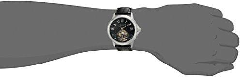 ストゥーリングオリジナル 腕時計 メンズ 541.331XK1 Stuhrling Original Men's 'Tourbillon' Mechanical Hand Wind Stainless Steel and Black Leather Dress Watch (Model: 541.331XK1)ストゥーリングオリジナル 腕時計 メンズ 541.331XK1