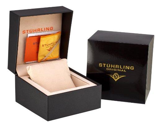 ストゥーリングオリジナル 腕時計 メンズ 296D.33XX6 Stuhrling Original Men's 296D.33XX6 Tourbillon Viceroy Tourbillon Limited Edition Mechanical Blue Watchストゥーリングオリジナル 腕時計 メンズ 296D.33XX6