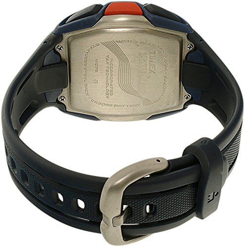 【当店1年保証】タイメックスTimex Men's Ironman TW5K96500 Blue Rubber Quartz Sport Watch