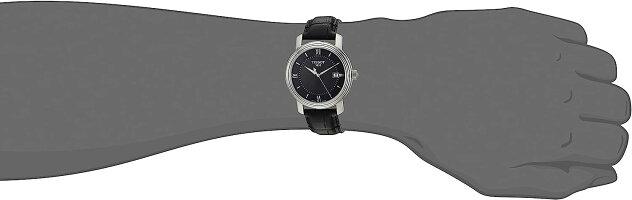 ティソ腕時計メンズT0974101605800TissotMen'sSwissQuartzStainlessSteelandLeatherCasualWatch,Color:Black(Model:T0974101605800)ティソ腕時計メンズT0974101605800