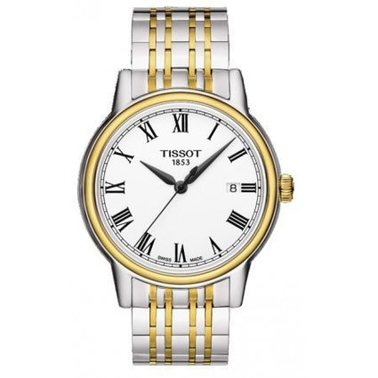 ティソ 腕時計 メンズ T0854102201300 Tissot Men's T0854102201300 Carson Analog Display Swiss Quartz Two Tone Watchティソ 腕時計 メンズ T0854102201300