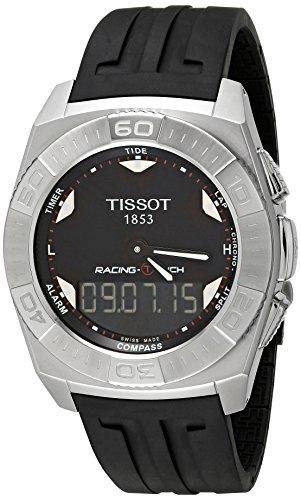 ティソ 腕時計 メンズ T002.520.17.051.00 Tissot Men's T002.520.17.051.00 Black Dial Racing Touch Watchティソ 腕時計 メンズ T002.520.17.051.00