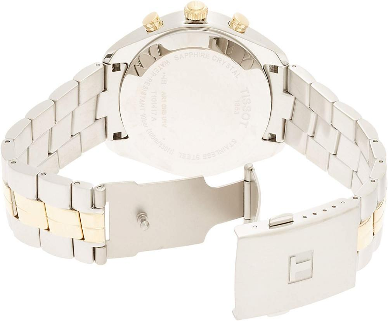ティソ 腕時計 メンズ T1014172203100 Tissot Men's T1014172203100 Analog Display Quartz Two Tone Watchティソ 腕時計 メンズ T1014172203100
