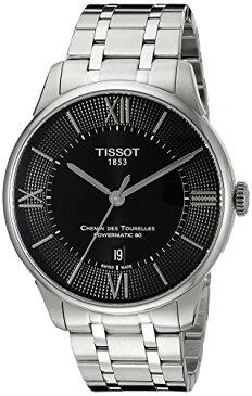 ティソ 腕時計 メンズ T0994071105800 Tissot Men's T0994071105800 Chemin Des Tourelles Powermatic 80 Analog Display Swiss Automatic Silver-Tone Watchティソ 腕時計 メンズ T0994071105800