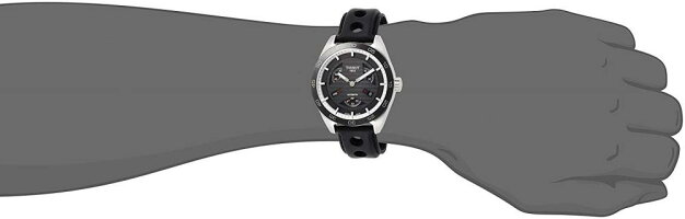 ティソ腕時計メンズT1004281605100TissotPRS516AutomaticBlackDialMensWatchT100.428.16.051.00ティソ腕時計メンズT1004281605100