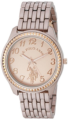 ユーエスポロアッスン 腕時計 レディース USC40099 U.S. Polo Assn. Women's Quartz Metal and Alloy Watch, Color:Rose Gold-Toned (Model: USC40099)ユーエスポロアッスン 腕時計 レディース USC40099