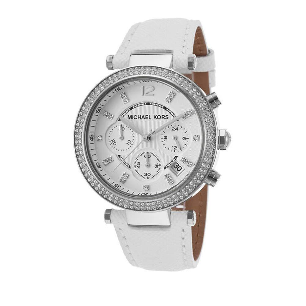 マイケルコース 腕時計 レディース マイケル・コース アメリカ直輸入 MK2277 Michael Kors Women's Chronograph Parker White Leather Strap Watch 39mm Mk2277マイケルコース 腕時計 レディース マイケル・コース アメリカ直輸入 MK2277