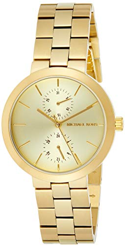 【当店1年保証】マイケルコースMichael Kors Women's Garaner Gold-Tone Watch MK6408