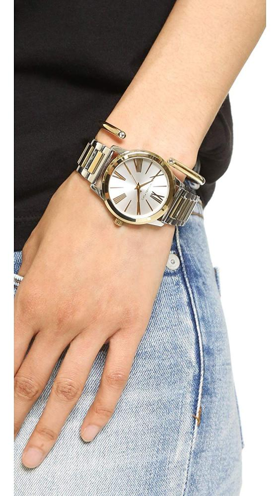【当店1年保証】マイケルコースMichael Kors Women's Hartman Silver-Tone Watch MK3521
