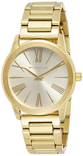 【当店1年保証】マイケルコースMichael Kors Women's Hartman Gold-Tone Watch MK3490